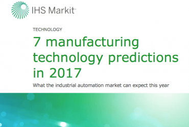 Manufacturing Technology Predictions