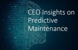 Connected sensors & machine learning – two current trends in predictive maintenance