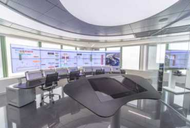 Live transmission from ABB's new Collaborative operations Center for Power Generation & Water