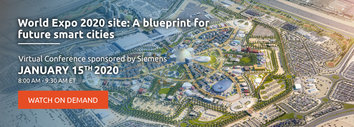 World Expo 2020 site: A blueprint for future smart cities