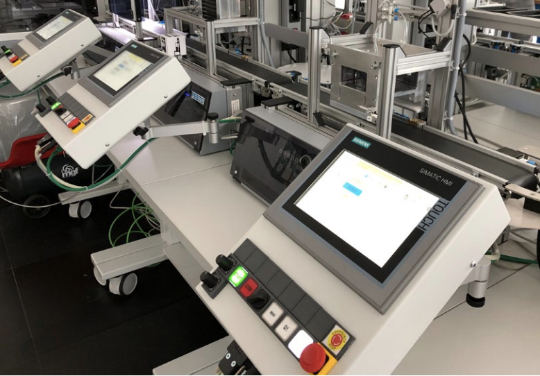 A photo of Industry 4.0 Lab, the system that we analyzed during this research