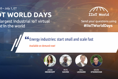energy track on demand iiot world days